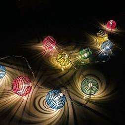 1.5M 10 LED String Lights Spring Holiday Lights Strip Decora