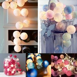 1.5M 3M LED Cotton Ball <font><b>Light</b></font> <font><b>S