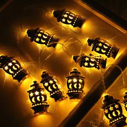 1 pc LED String Lights Wrought Iron Decoration Light for Bed