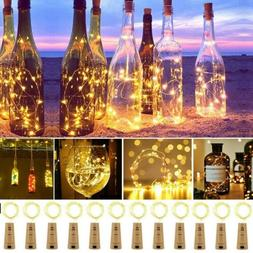 10-20 LED String Light Wine Bottle Cork Wire Fairy Lights Ch