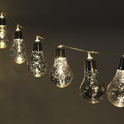 GreenLighting 10 Decorative Party String Lights Speckled Mer