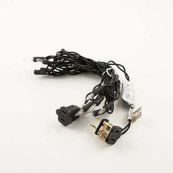 10 Indoor Mini String Lights, 8.35 FT Black Cord