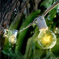 10 socket outdoor patio string light set