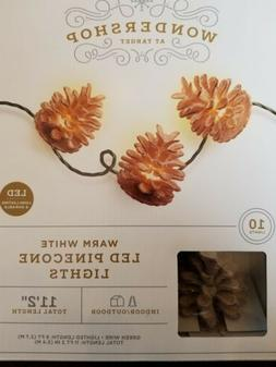 Philips 10 Warm White Pinecone Lights - Indoor/Outdoor LED 9