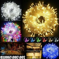100-1000 LED Fairy String Lights Plug In for Xmas Tree Indoo