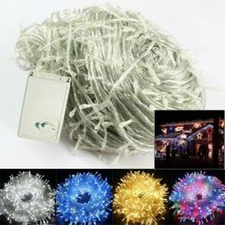100-1000 LED Main Plug in Fairy String Lights Xmas Party Bed