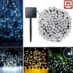 100 200 LED Solar String Fairy Light Garden Christmas Outdoo