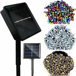 100/200 LED Solar String Lights Party Wedding Xmas Decor Out
