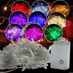 100/200 LEDs LED String Fairy Lights Lamp Christmas Wedding