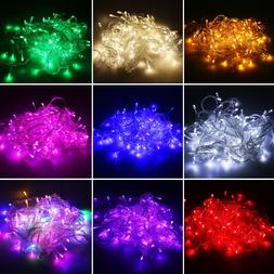 100 500 led string fairy lights on