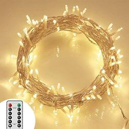 36ft 100 LED Outdoor Battery Fairy Lights