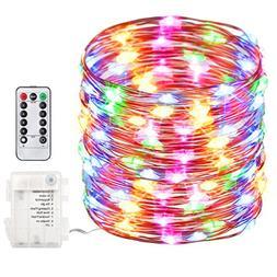 GDEALER 100 Led 33ft Fairy Lights Fairy String Lights Batter