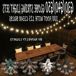 100 Foot Globe Patio Outdoor String Lights - Set of 125 G50/