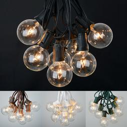 100 ft UL-Listed Outdoor Globe Patio String Lights - 75 Sock