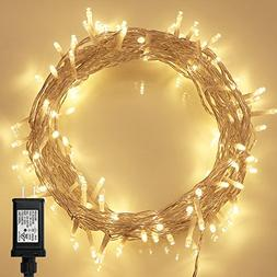 String Lights, 100 LED Indoor Fairy Lights with  & on 36ft C