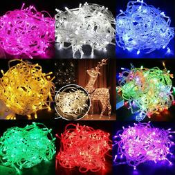 100 LED 10M Christmas Tree Fairy String Party Lights Xmax Wa