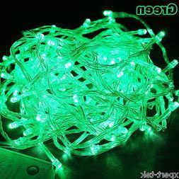 100 LED 10M Green String Fairy Lights Christmas Wedding Gard