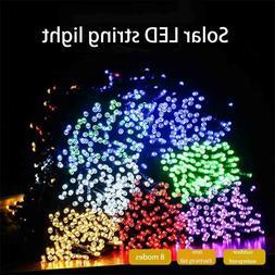 100 LED Solar String Lights Outdoor Garden Party Xmas Fairy