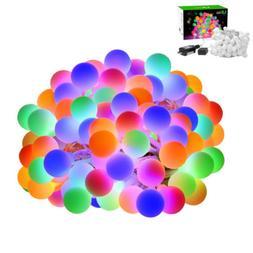 100 LEs 33 Feet Globe LED String Light Decorative Lights for