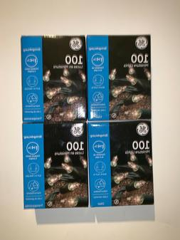 GE 100 String Clear Mini Lights 20.6 ft Seasonal Holiday Gre