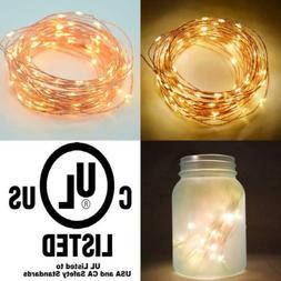 Fantado 100 Warm White 100 LED - 33FT  Copper Wire,