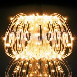 100LED 33FT LED String Strip Copper Wire Lights Waterproof R