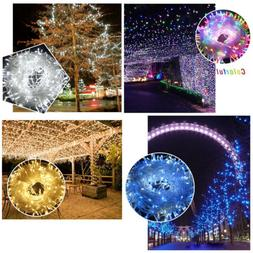100M 500 Leds 164ft String Fairy Lights Lighting 8 Modes Par