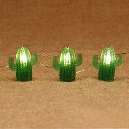 10ft 20 LEDsTropical Themed Desert Cactus Succulents String