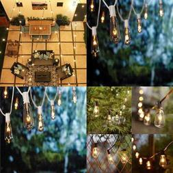 10FT String Lights ST40 Indoor & Outdoor Patio Edison W 11 C