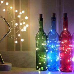 LED Solar Powered Wine Bottle <font><b>Lights</b></font> Cor