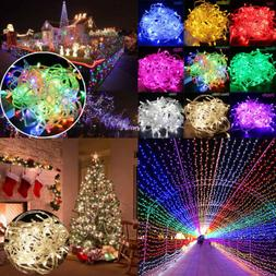 10M/20M 100/200 LED Fairy Christmas Xmas Tree String Lights
