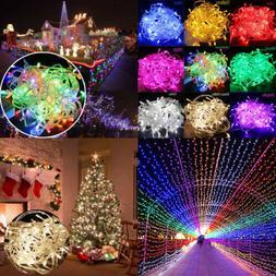 10M/20M 100/200 LED Fairy Christmas Xmas Tree String Lights