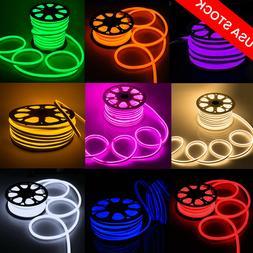 110V LED Flex Neon Rope Light Valentine Party Garden Ceiling