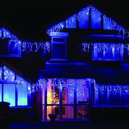 LEDWholesalers 16.4 Feet 120 LED Icicle Christmas Holiday Li