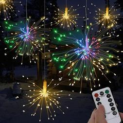 120 LED Firework Light Copper Wire Fairy String Lights Chris