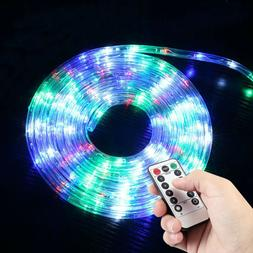 120 LED Strip Rope Lights Fairy String Lights Xmas Party Dec