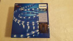 Philips 15 ft BLUE Flat Rope Lights Indoor/Outdoor Christmas