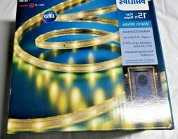 Philips 15 ft Flat Rope LED Light WARM WHITE  NEW IN BOX