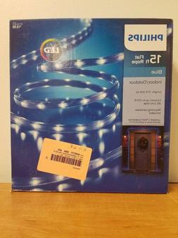Philips 15ft Flat Rope - Blue