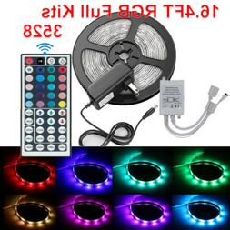 16.4FT 300 LED RGB Flexible Strip Light 3528 Decorative Fair