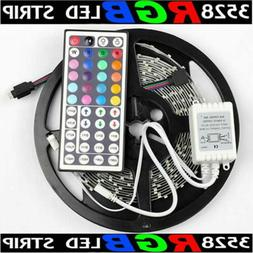 16.4ft RGB 3528 SMD 300 LED Rope Tape Lights Waterproof IP65