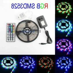 16.4FT SMD3528 300LED RGB Changing Color LED Light Strip Ful