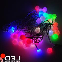 16-ft Christmas Xmas Light with 50 RGB Color-Changing LED G2