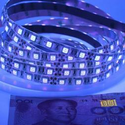 16FT DC 12V 5050 UV Ultraviolet purple Waterproof 300 LED St