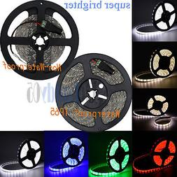 ElcPark 16ft SMD 5630 LED Flexible Waterproof Strip Light Va