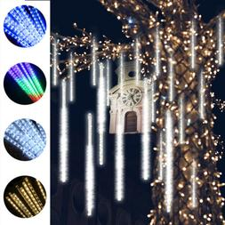 16Tubes LED Meteor Shower Lights Falling Icicle String Light