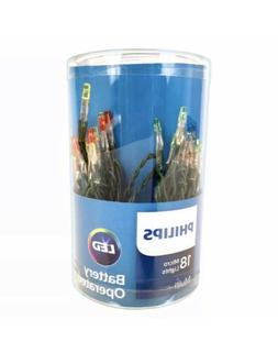 Philips 18 Ct Battery Operated LED Micro String Lights - Mul