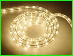 * 18 FOOT CLEAR Brite Star STRING of 170 ROPE LIGHTS Indoor