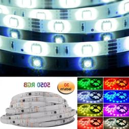 1m 5m 10m 20m LED strip RGB waterproof Multi-color 30leds/m