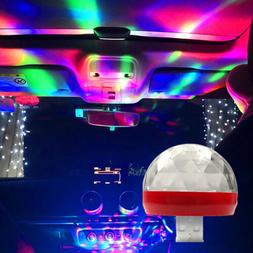 1x Car Interior Atmosphere Neon Lights Colorful LED USB RGB